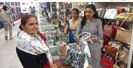 Sales girls required in well Mart showroom sitting job no har
