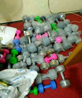 Jual barbel baru/Ready Home gym