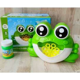 Mainan Bubble Frog Machine No.721
