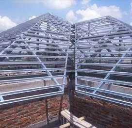 layanan pengerjaan atap baja ringan ANTI BOCOR