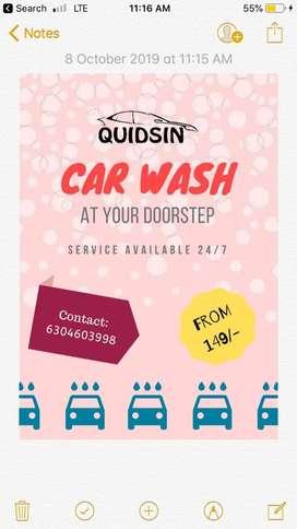 Car wash services at kompally