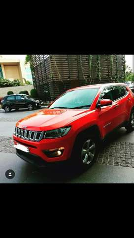 Red Jeep compass for marrage rent