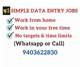 Work at home in free time.Earn daily 1000 to 1300