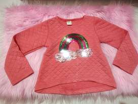 Sweater merk little M usia 2-4th