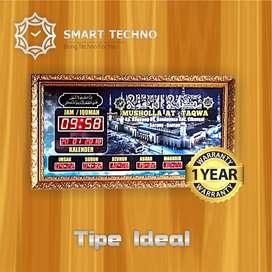 Paling Laris Jam Digital Masjid Tipe Ideal Terpercaya #abs