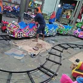 RST odong mobil fiber kereta lantai mini coaster PROMO