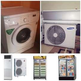 Melayani servis mesin cuci ,AC,kulkas dll