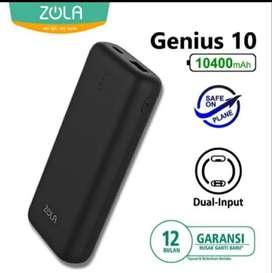 《SEGEL》 ZOLA GENIUS 10400mAh Small Powerbank Fast Charging Nano Cell