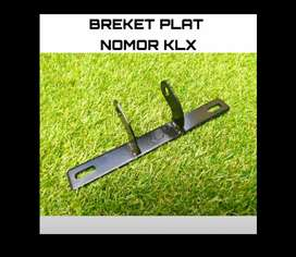 Breket dudukan plat nomor KLX CRF barang baru