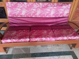 Robust Sheesham Sofa for sale at 7K