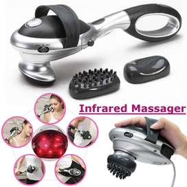 Electric Body Heated Massager Stick Handheld Infrared Body Neck Back