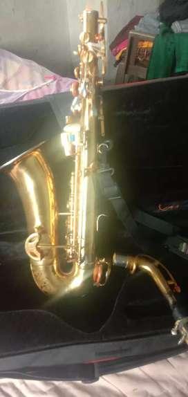 Indian ha wan a alto saxophone