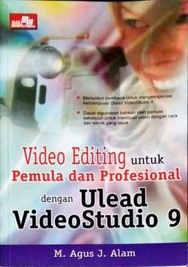 Buku editing untuk pemula dan professional dengan ulead  video studio