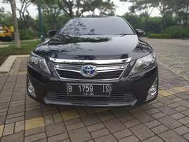 Camry hybrid 2012 Hitam