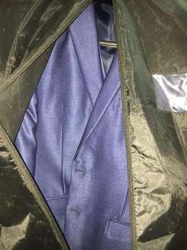 Park Avenue blue suit