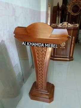 Ready Mimbar Musholla Kerajinan Jepara @149