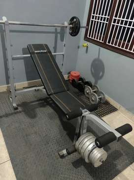 Home Gym Bench, New Condition 10/10