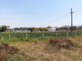 touch to road plot in between kasarsai and kusgaon road