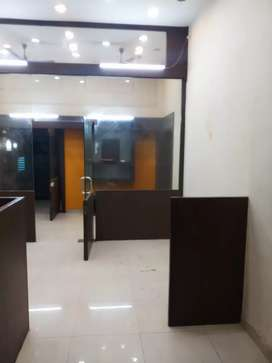 Commercial office 480 crpt  Semi Furnished