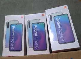 Redmi Note 8 4/64 garansi resmi black blue white