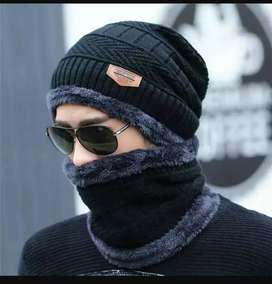 Good quality 2 in one accessories coming with cap and neck warmer