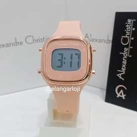 Jam Tangan Alexandre Christie AC 9336 Peach