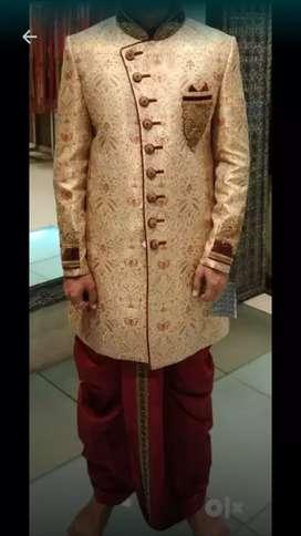 Brand New Unused Sherwani Dhoti