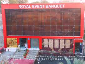 600 person  BEAUTIFUL BANQUET FOR SALE ۔