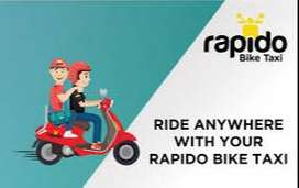 "Vadodara ""Looking Bike  rider Executive in Rapido"""