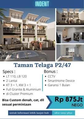 dijual Rumah baru kondisi Indent diCluster Taman Telaga Citra Raya Cik