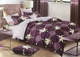 Premium quality quilted bedsheet
