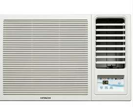 Hitachi 1 ton window ac 2 month old very good condition