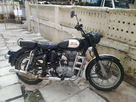 Royal Enfield 500cc. Black Beauty.