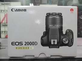 CANON DSLR 2000D KIT 18-55MM GARANSI 1 TAHUN BISA KREDIT