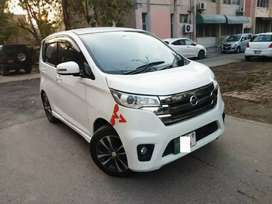 Nissan days Highway star 2017 automatic on easy Installment .