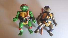 Mainan Ninja Turtle tahun 1988 (Raphael dan Donatello)