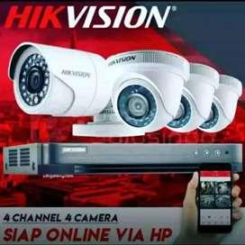 Lengkap harga terjangkau paket online kamera CCTV  1080P.area cipondoh