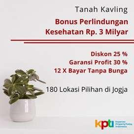 Diskon 25%, Kavling Tanah Standar Perumahan, Dekat Candi Prambanan