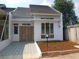 Rumah murah minimalis cluster di limo cinere depok type 46/95