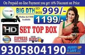 Sasta offer- TATA SKY DTH Connection All India Tata sky, COD