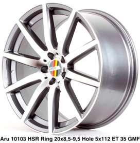 velg hsr wheel ARU HSR r18c85\95 h5x112 gmf