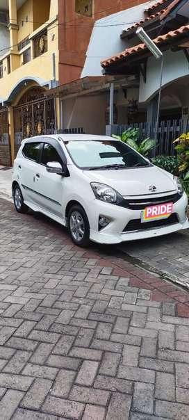 Toyota Agya 1.0 G TRD tahun 2015 matic murah