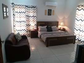 Well furnished kanal portion for rent
