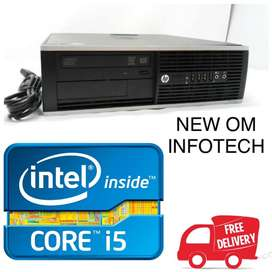 i5 HP PC WITH 1 YEAR WARRANTY/4GB RAM & 500GB HDD/ CASH ON DELIEVERY