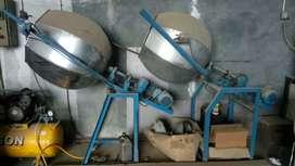 Mesin Snack Camilan Pengaduk Bumbu dan Pengering