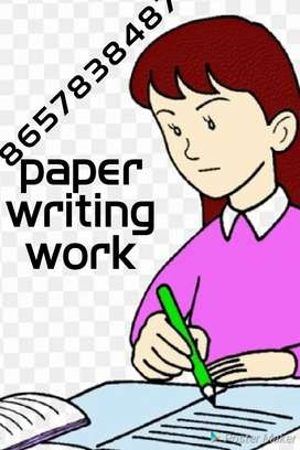 I want good hand writer weekly salary 13000