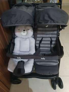 Joei Stroller Aire Twin _ Stroller anak kembar (preloved)