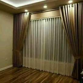 Vitrase Hordeng Gorden Curtain Minimalis Gordyn Korden Gordeng 546