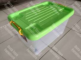 Container Box Shinpo Transparan 45 Liter