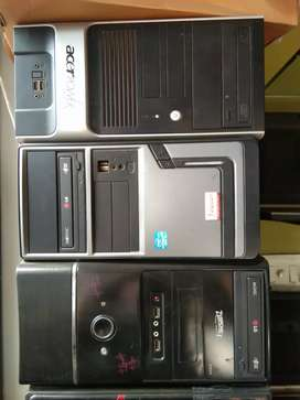 Core2duo  CPU only rs 3500